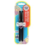 Papermate Flair Felt Tip Pens 2 Pack Black