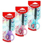 Essentials 13cm Scissors Soft Grip Pastel Maped