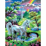 Paint By Numbers Medium Unicorn