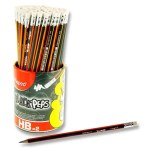 Black'peps Rubber Tipped Hb Pencil Maped