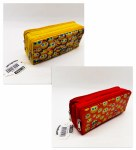 Double Zip Pencil Case Emoji Perfect Stationery
