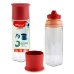 Concept Picnik 500ml Bottle Brick Red Maped