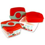 Maped Picnik Origina Twist Sandwich Box Red