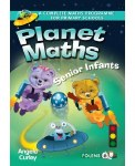 Planet Maths Senior  Infants Text Book and Number Practice Book Folens