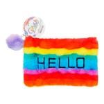 Emotionery Plush Pencil Case Hello Rainbow