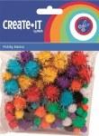 Create It Pom Poms 78 Glitter