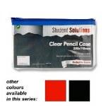 Premier Pencil Case Clear See Through 200 x 115mm