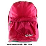 Explore School Bag Back Pack Pink Grey 25 Litres