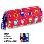 Premier Round Pencil Case Owls