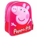 Preschool Bag Peppa Pig 3D 31cm