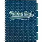 Pukka Pad Project Book A4 Glee Dark Blue