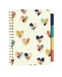 Pukka Pad Project Book B5 Carpe Diem Hearts