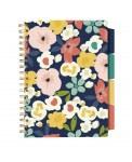 Pukka Pad Project Book B5 Carpe Diem Navy Floral