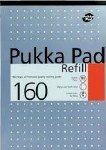 Pukka Refill Pad Top Open 160 Page Metallic Blue