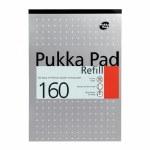 Pukka Refill Pad Top Open 160 Page Metallic Silver