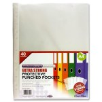 Punched Pockets Extra Strong 40 Pack