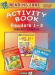 Reading Zone Activity Book for Readers 1 to 3 Junior Infants 3 in 1 Folens