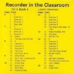 Recorder In The Classroom 1 CD