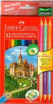 Colouring Pencils 12 + 3 FREE Faber Castell