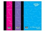 Refill Pad Side Opening 250 Page Pastel Supreme