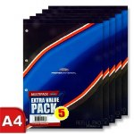 Refill Pad 5 Pack A4 160 Pages