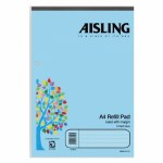 Aisling Visual Aid Refill Pad 100 Pages Blue