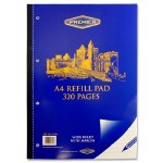 Refill Pad 320 Page Side Opening Premier