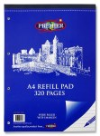 Refill Pad 320 Page Top Opening Premier