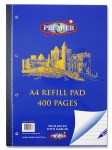 Refill Pad 400 Page Side Opening Premier