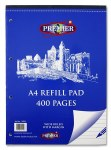 Refill Pad 400 Page Top Opening Premier