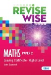 Revise Wise Maths Leaving Cert Higher Level Paper 2 Ed Co