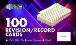 Record Cards 5x3 Ruled Colour Perfect Stationery
