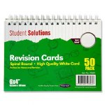 "Revision Cards 6"" x 4"" White"