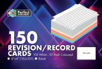 Record Cards 6X4 Ruled Colour & White Perfect Stationery