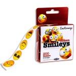 Emotionery Roll 200 Stickers Smileys
