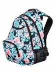 Roxy School Bag Shadow Swell Anthracite S Crystal Flower 24 Litre