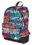 Roxy School Bag Sugar Baby Typo is Everywhere 16 Litre