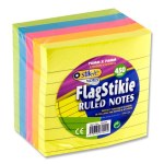 Stik-ie Block 450 Ruled Stikie Notes 76mmx76mm