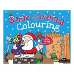 Colouring Book Santa Is Coming To Ireland