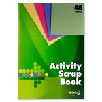 Scrap Book A4 Activity 48 Page Premier