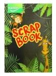 Scrap Book 13x9 48pg Animal
