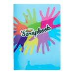 Scrap Book A4 World of Colour Durable Cover 60pgs