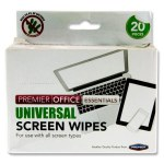 Premier Office 20 Universal Screen Wipes