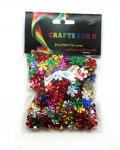 Sequin Shapes Flowers 20g