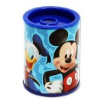 Sharpener Twin Hole Metal Barrel Mickey Mouse