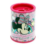 Sharpener Twin Hole Metal Barrel Minnie Mouse