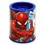 Sharpener Twin Hole Metal Barrel Disney Spiderman