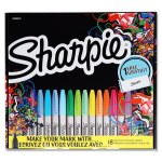 Sharpie Big Pack 18 Markers & Pencil Case