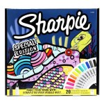 Sharpie Limited Edition 20 Fine Tip Markers Turtle Pack