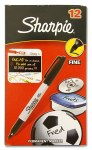 Sharpie Black Permanent Marker Carded